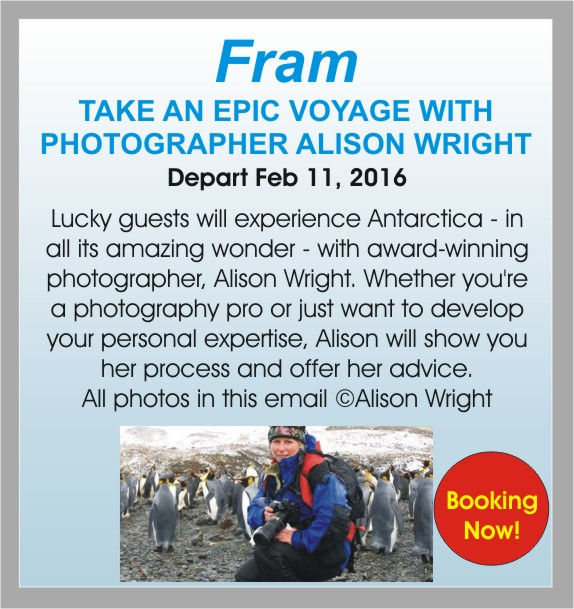 Fram, with Alison Wright