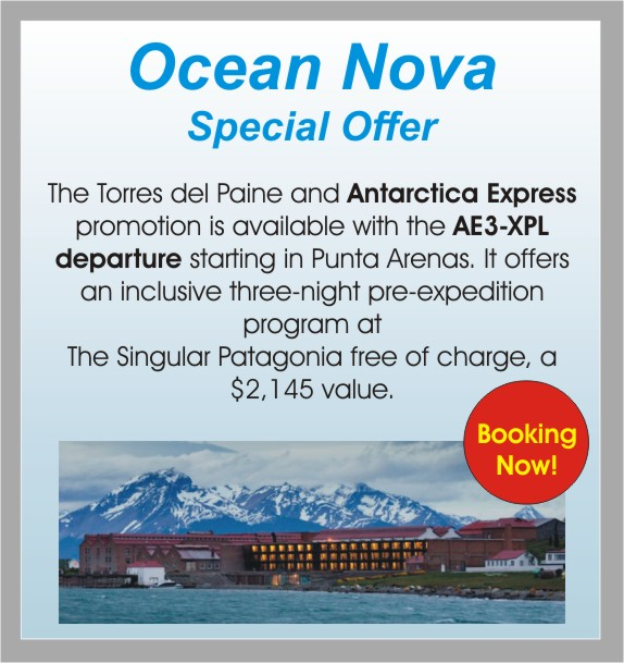 Ocean Nova, current promotions