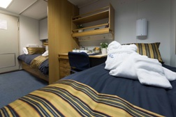 twin private cabin - akademik ioffe - one ocean expeditions